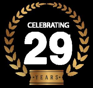 Celebrating 29 years